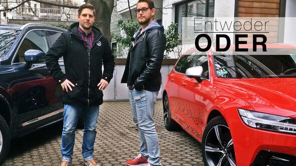 Entweder ODER Volvo V90 XC 90 Vergleich