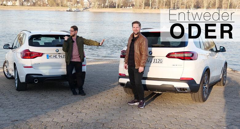 Entweder Oder BMW X3 X5 Vergleich