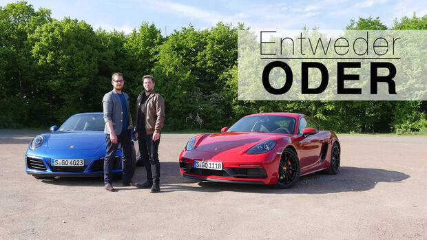 Entweder Oder Porsche Cayman GTS 911 Kaufberatung
