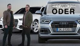 Entweder Oder Vergleich Audi Q5 A4 Quattro