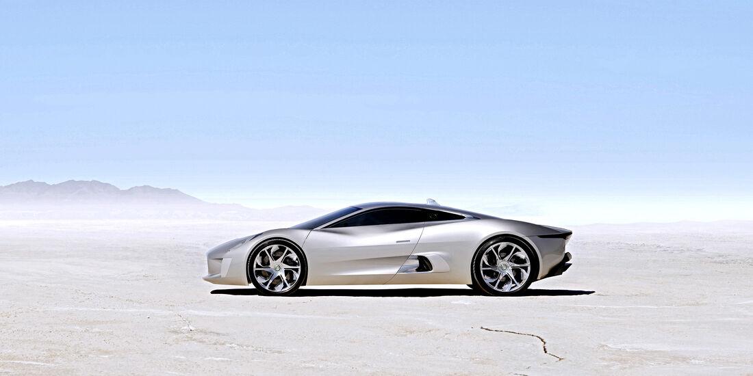 Entwicklungsprozess Jaguar I-Pace, Jaguar C-X75