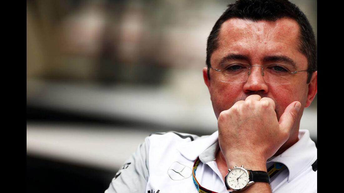 Eric Boullier  Formel 1 - GP Brasilien- 7. November 2014