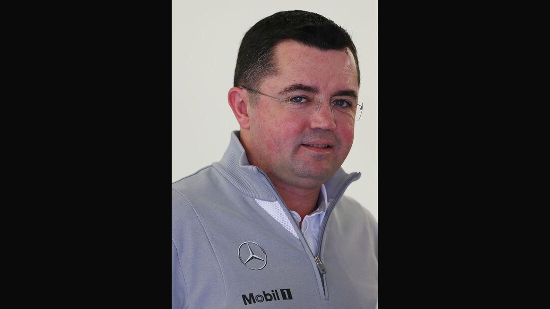 Eric Boullier - McLaren - Bahrain - Test - 19.02.2014