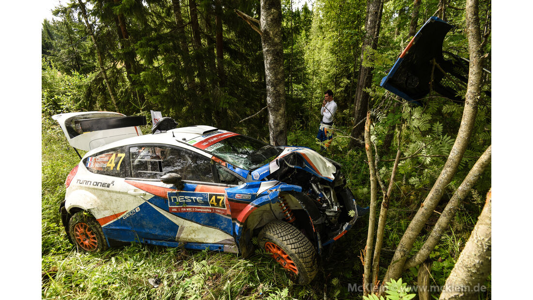 Eric Camilli - Rallye Finnland 2015