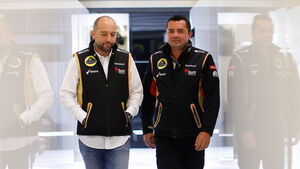 Eric Lopez & Eric Boullier - Lotus 2013