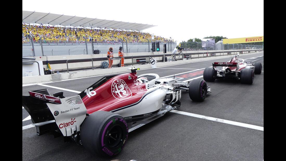 Ericsson & Leclerc - GP Frankreich 2018