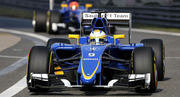 Ericsson & Nasr - Sauber - GP China 2015