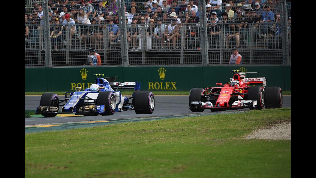 Ericsson & Räikkönen - GP Australien - Melbourne - 25. März 2017