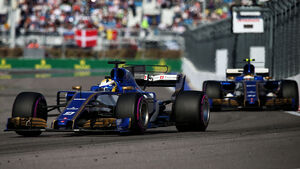 Ericsson & Wehrlein - GP Russland 2017