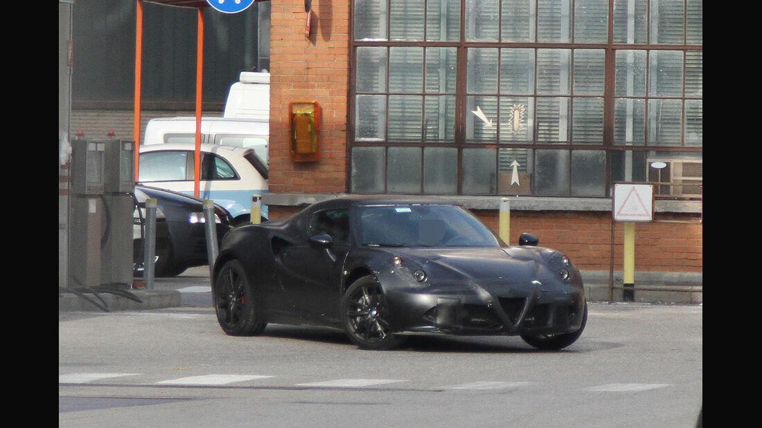 Erlkönig Alfa Romeo 4C
