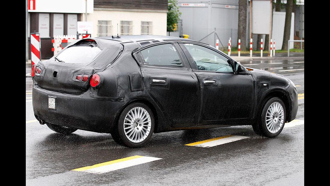 Erlkönig Alfa Romeo Milano