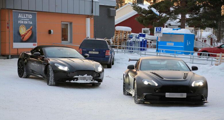 Erlkönig Aston Martin DB 11 Volante