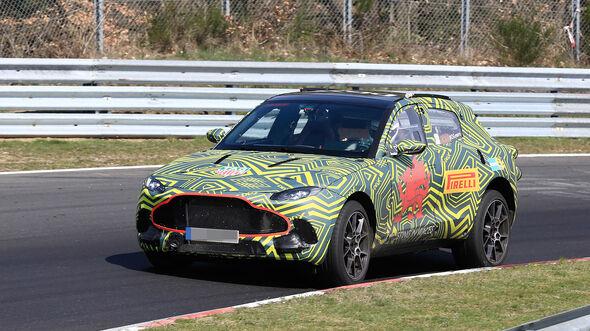 Erlkönig Aston Martin DBX