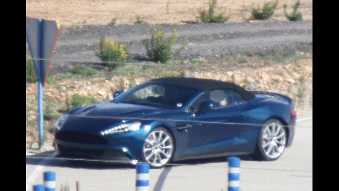 Erlkönig Aston Martin Vanquish Roadster