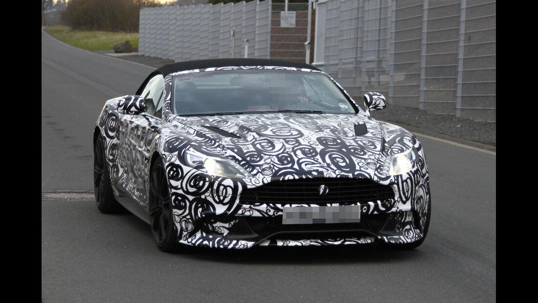 Erlkönig Aston Martin Vanquish Volante