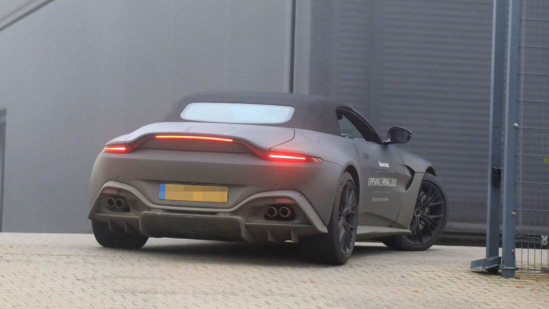Erlkönig Aston Martin Vantage Roadster