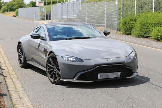 Erlkönig Aston Martin Vantage S