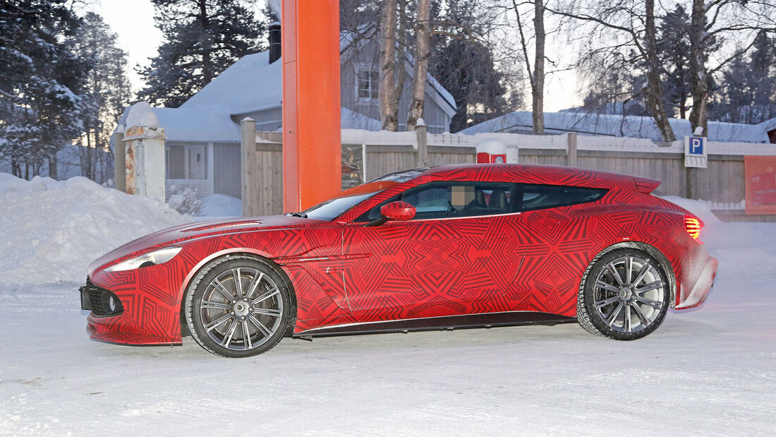 Erlkönig Aston Martin Zagato Shooting Brake