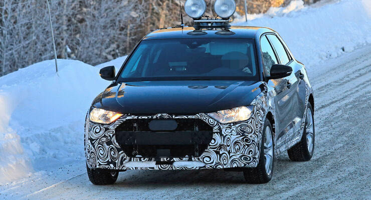 Erlkönig Audi A1 Allroad