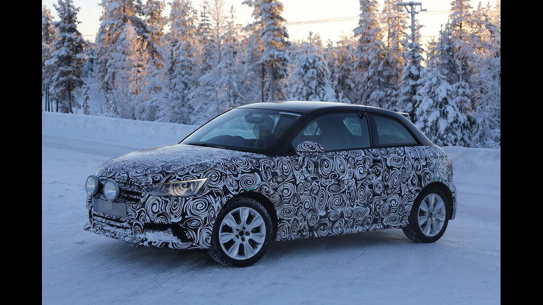 Erlkönig Audi A1 Unfall