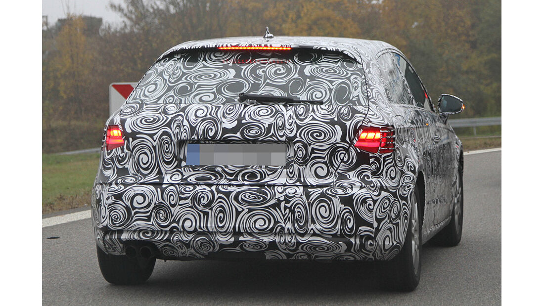Erlkönig Audi A3