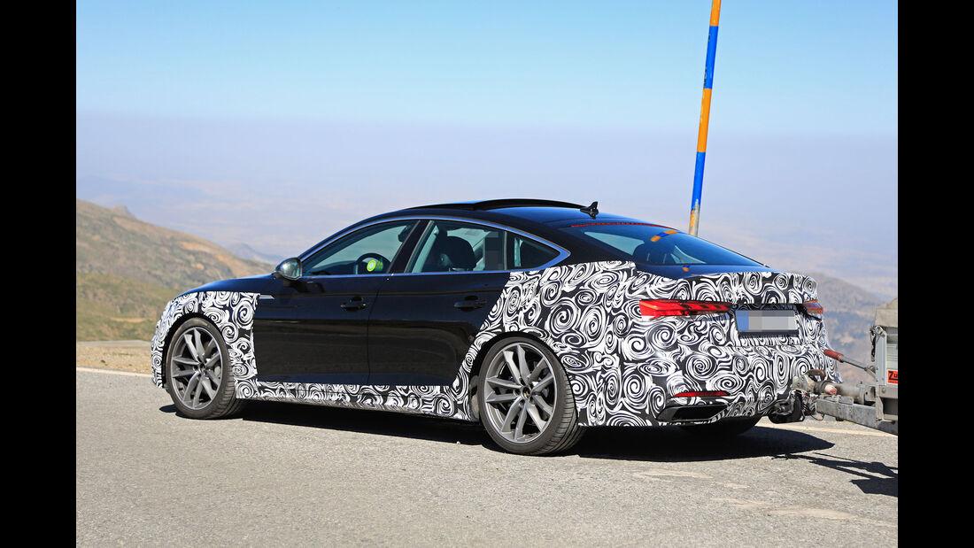 Erlkönig Audi A5 Sportback