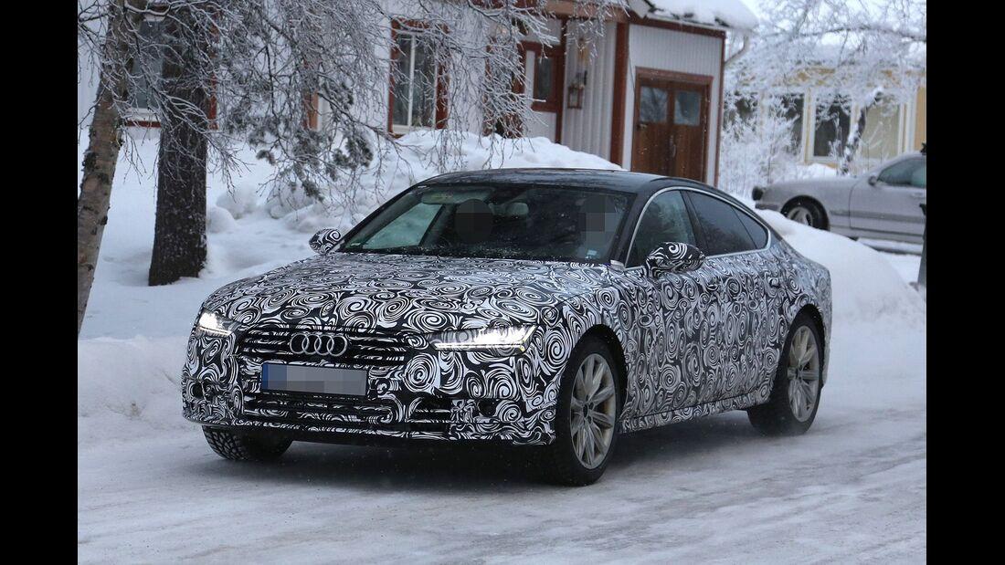 Erlkönig Audi A7