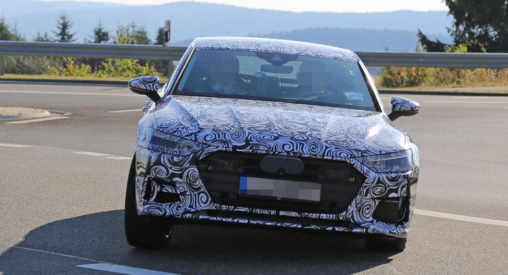 Erlkönig Audi A7 Sportback