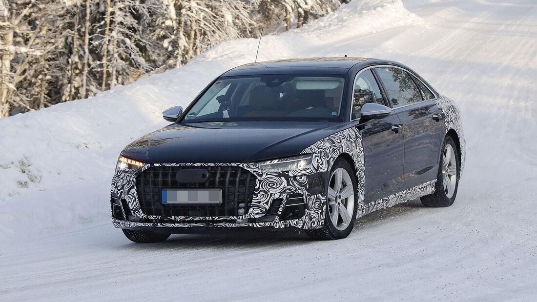 Erlkönig Audi A8L