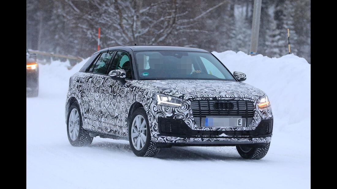 Erlkönig Audi Q2 E-Tron