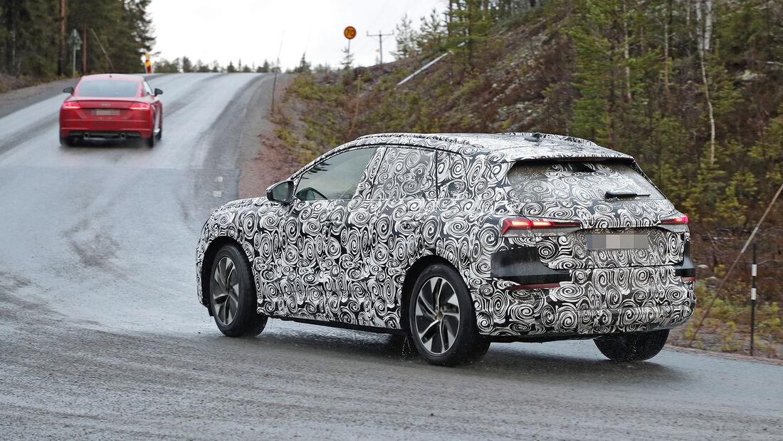 Erlkönig Audi Q4 E-Tron
