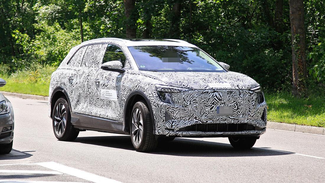 Erlkönig Audi Q5 E-Tron