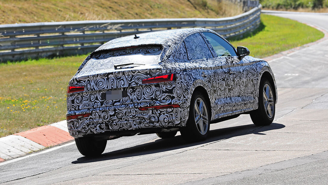 Audi Q5 Sportback 2021 Suv Coupe Gegen X4 Und Glc Coupe