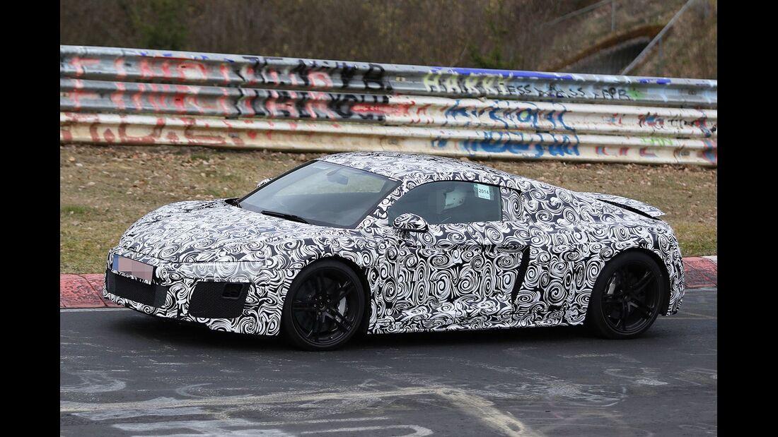 Erlkönig Audi R8