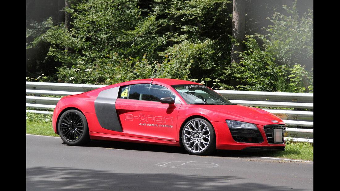 Erlkönig Audi R8 E-Tron