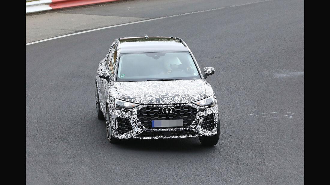 Erlkönig Audi RS Q3
