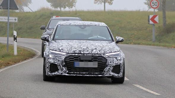neuer audi rs3 limousine (2021): power-limo mit bis zu 450