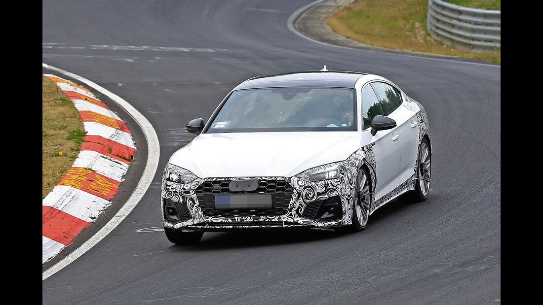 Erlkönig Audi S5 Sportback