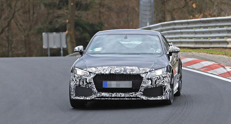 Erlkönig Audi TT RS