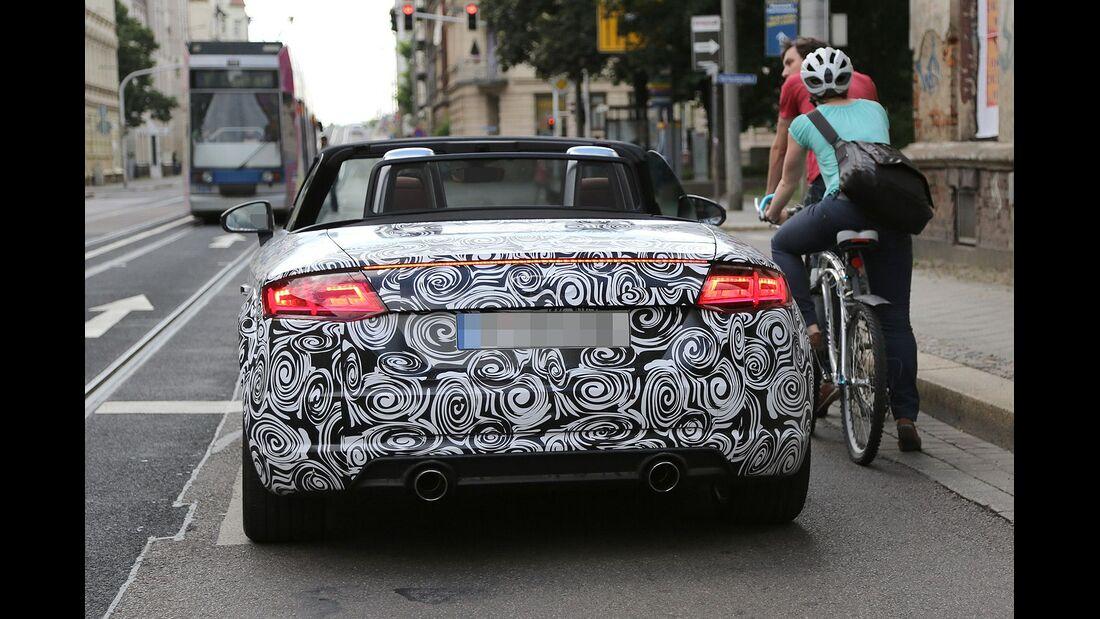 Erlkönig Audi TT Roadster