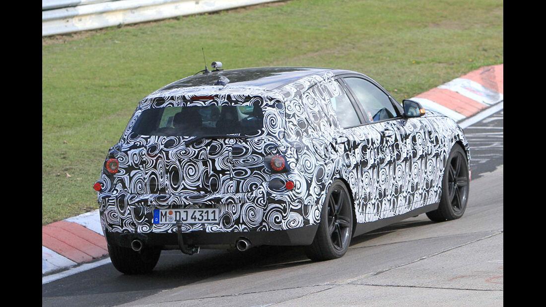 Erlkönig BMW 1er Sport Edition mit M-Paket
