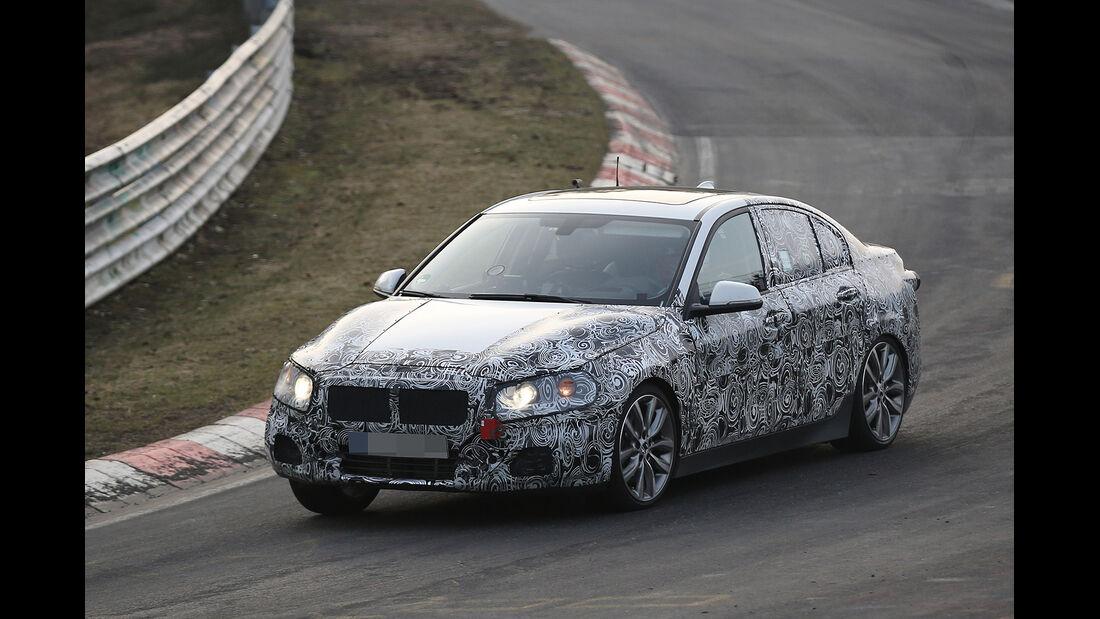 Erlkönig BMW 1er Stufenheck