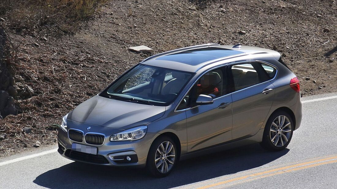 Erlkönig BMW 2er Active Tourer