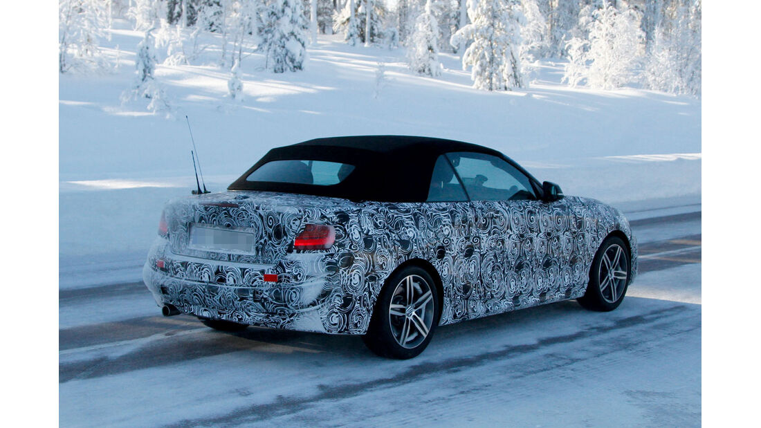 Erlkönig BMW 2er Cabrio