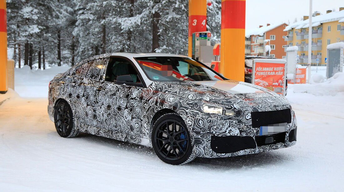 Erlkönig BMW 2er Gran Coupé