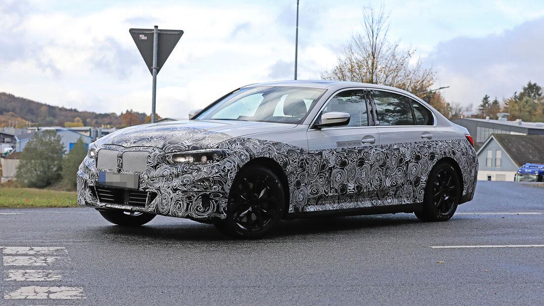 Erlkönig BMW 3er Electric