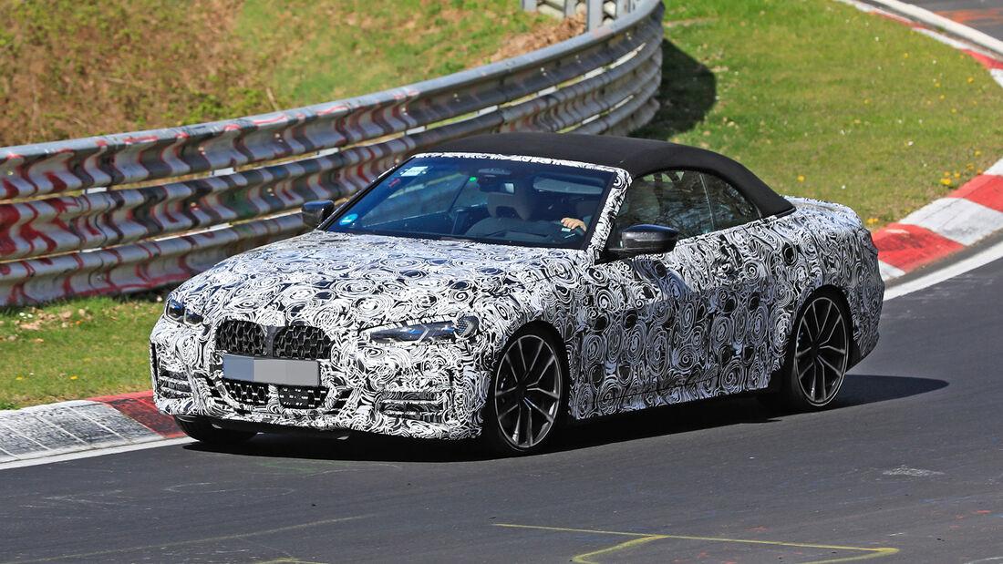 Erlkönig BMW 4er Cabrio