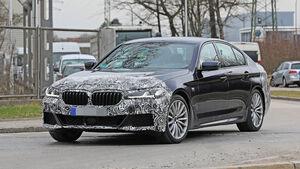 Erlkönig BMW 5er