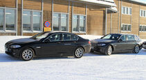 Erlkönig BMW 5er Limousine + Touring