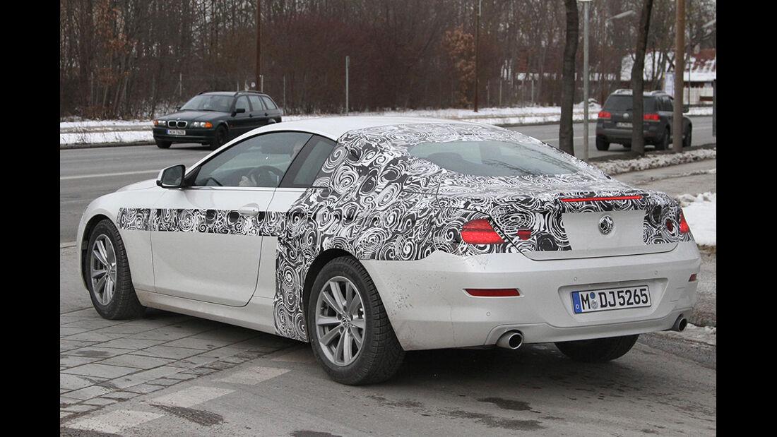 Erlkönig BMW 6er Coupé